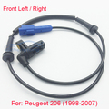 New ABS Wheel Speed Sensor Front Left / Right  for Peugeot 206 98-07 Hight Quality and Free Shipping