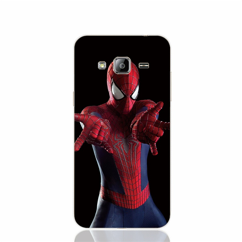 26233 the <font><b>amazing</b></font> <font><b>spider</b></font> <font><b>man</b></font> cell phone <font><b>case</b></font> cover <font><b>for</b></font> <font><b>Samsung</b></font> <font><b>Galaxy</b></font> J1 J2 J3 J5 J7 MINI ACE 2016 2015 ON5 ON7