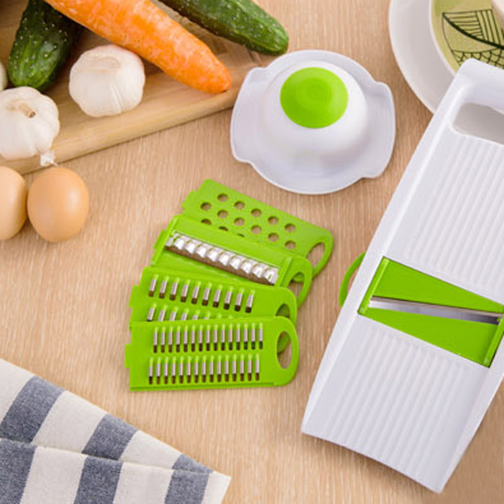 5 Pcs/Set New Kitchen multifunction shredder is sliced into strips cut potatoes wire grater sets