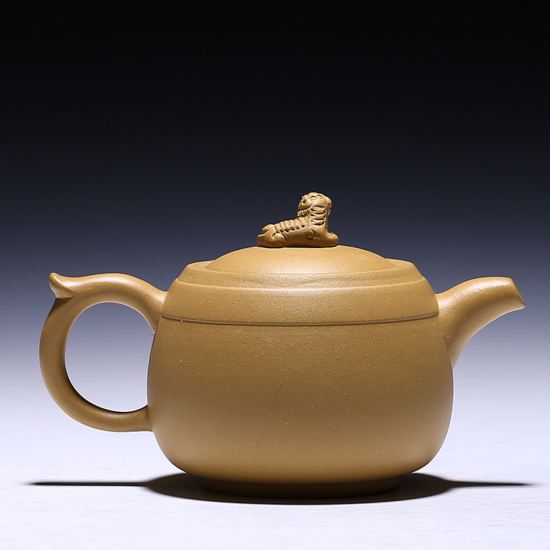 350cc China Healthy Purple Clay Authentic Yixing Teapot Zisha Handmade Kung Fu Tea Set Ceramic Kettle Zisha Brave Troops Tea Pot