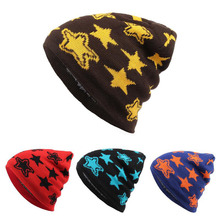 4 colors Fashion brand 2016 autumn and winter hats for women big star homies thin knitted hat skullies and beanies women hat A46