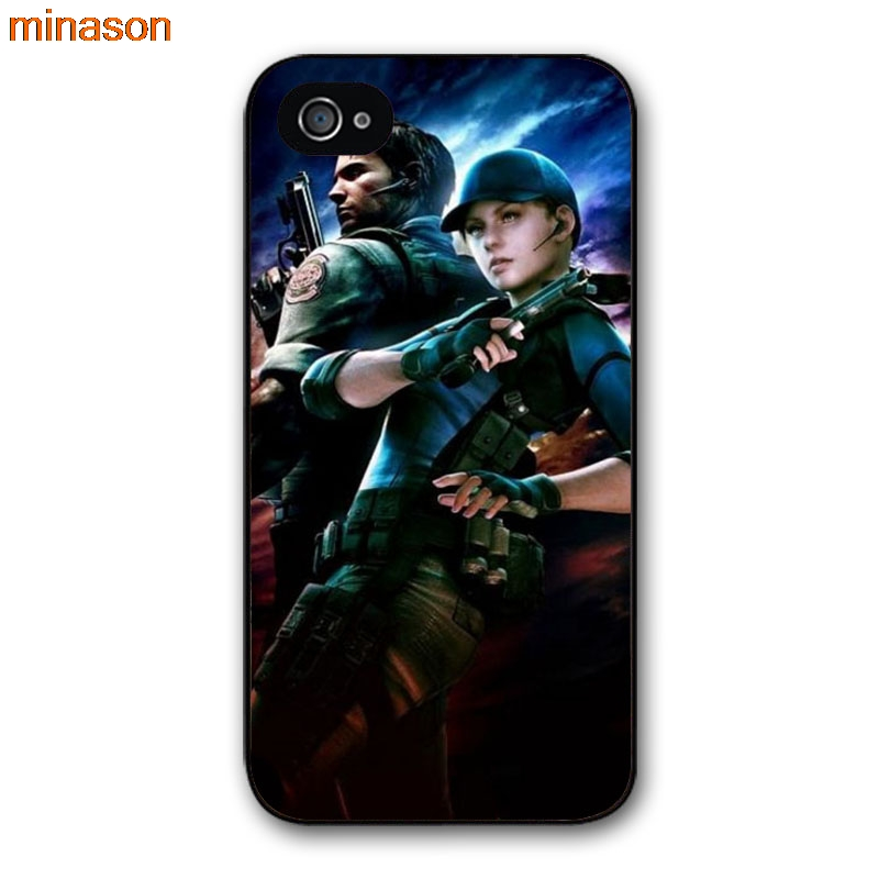 zhu xiao bo minason resident evil umbrella Alice Cover case for iphone 4 4s 5 5s 5c 6 6s 7 8 plus samsung galaxy S5 S6 Note 2 3 4  D5089