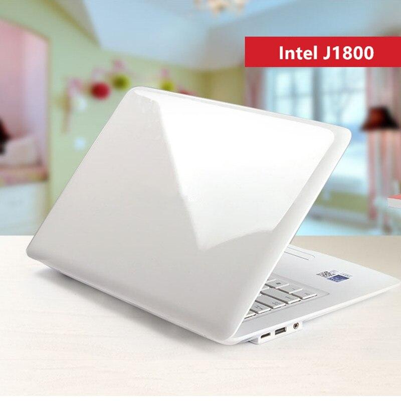 14-дюймовый ноутбук 8 Гб Оперативная Память 500GB жесткий диск процессор Intel Celeron Windows 10/7 Бизнес Офисный Компьютерный арабский azerty-клавиатура с и...