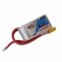 Высококачественная перезаряжаемая батарея Gaoneng GNB 14,8 V 850mAh 4s 80/160c Lipo для FPV Racing