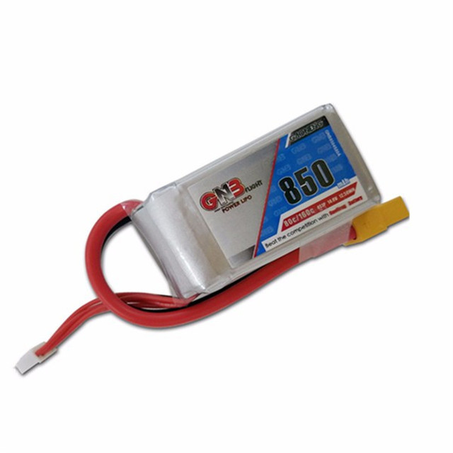High Quality Rechargeable Gaoneng GNB 14.8V 850mAh 4s 80/160C Lipo Battery For FPV Racing