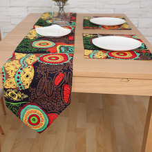Southeast Asian Table Runner National Wind Table Runners Cotton/Linen  Double Layer Table Cloth Runner