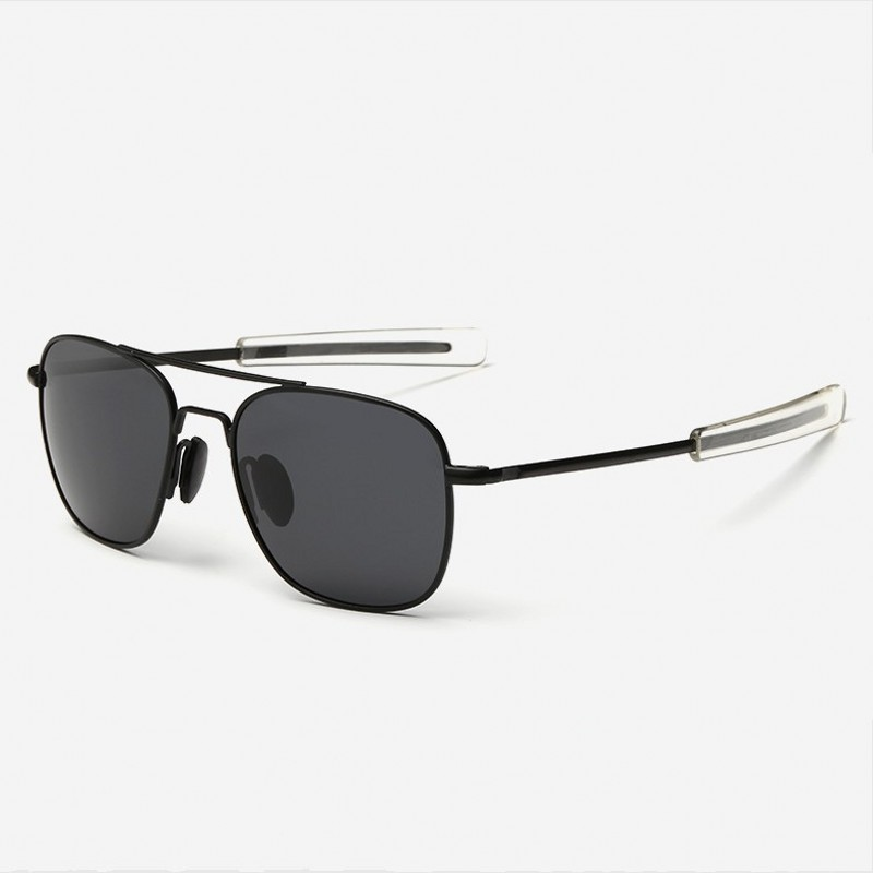 Men Vintage Aluminum HD Polarized Sunglasses Classic Brand Sun glasses Coating Lens Driving Shades For Men/Wome
