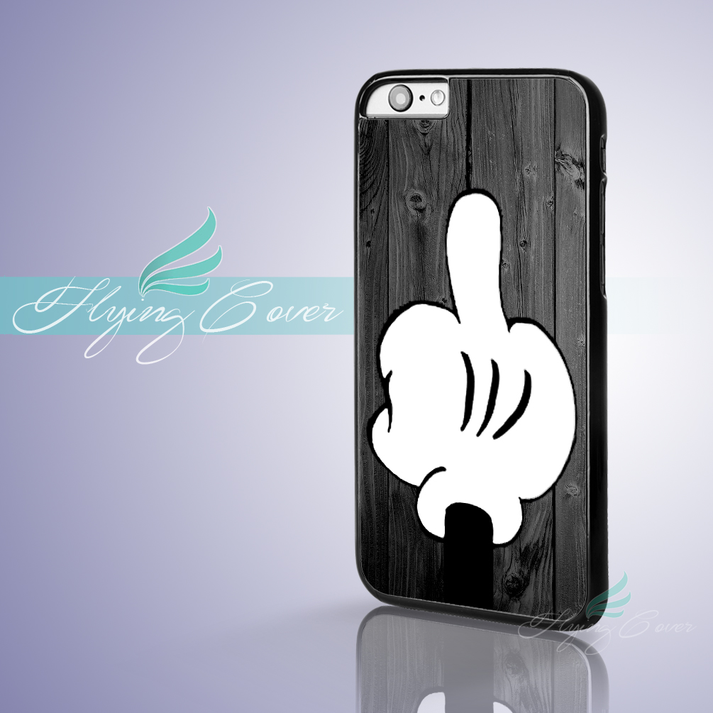 coque wood mickey mouse finger cover phone cases for. Black Bedroom Furniture Sets. Home Design Ideas