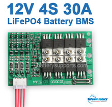 SuPower 4S 3.2Vx 4 12V 12.8V 14.6V 30A LiFePo4 LFP LiFe Battery BMS Management System Balance PCB Chip Protection Circuit Board(China)