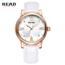 READ New fashion ladies leather watch white quartz women watches 2051