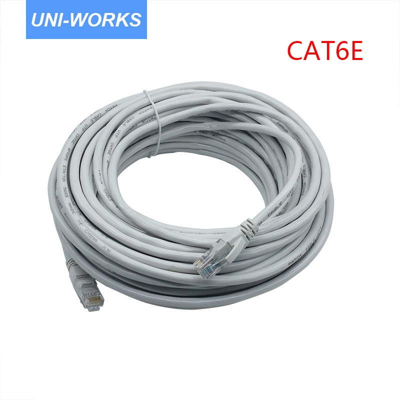 CAT6 Ethernet Cable  UTP CAT6 Network Cable Gigabit Ethernet Patch Cord RJ45 Network  GigE Lan Cable 2m/5m/10m/20m
