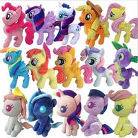 New Arrival Princess Celestia Princess Luna Twilight Sparkle Cartoon Pets Plush Rainbow Horse Unicorn Toys Stuffed