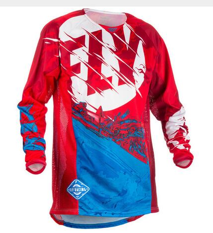 discount 2018 New Jeresy Downhill Jersey MTB Offroad long motorcycle long motocross Racing Riding Cycling Jersey long T-shirt