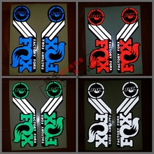 Mountain bike sticker reflective mountain frame s for fox,fixed gear bicycle fork(China)