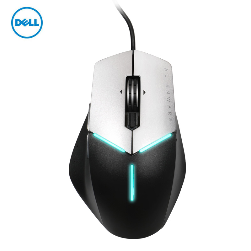 4fbde997a46 DELL Alienware AW558 Gaming mouse 5000dpi USB wired optical mouse RGB FX  lamp effect-in Mice from Computer & Office on Aliexpress.com | Alibaba Group