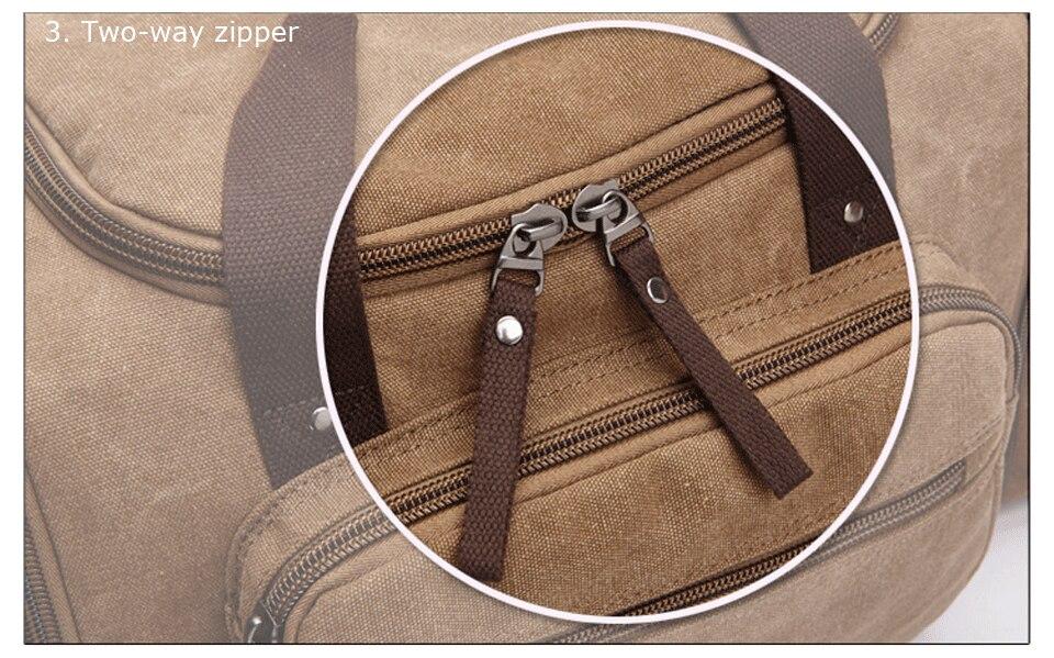 de couro carry on saco de bagagem