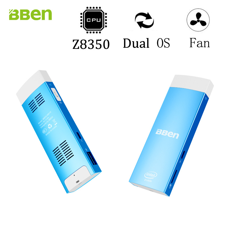 BBen MN1S Mini ordenador stick X5-Z8350 Windows10 y Android 5.1 Del Sistema de a