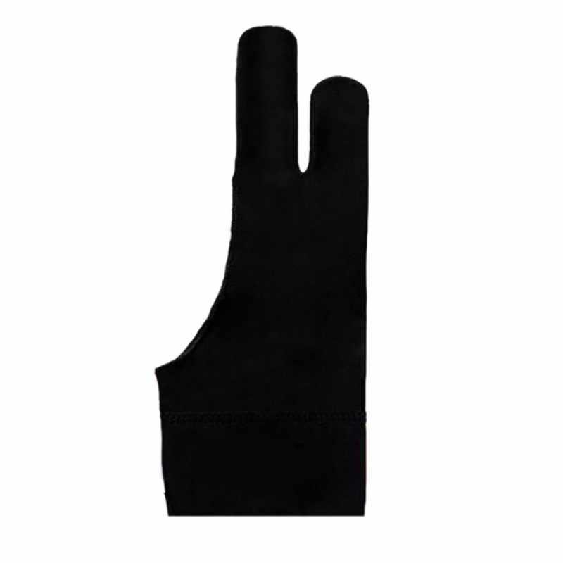アーティスト描画ため任意のグラフィック描画タブレットブラック 2 指防汚、両方右用左手黒フリーサイズ