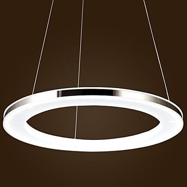 Fashion Modern Ring Shape Acrylic Droplight Led Pendant