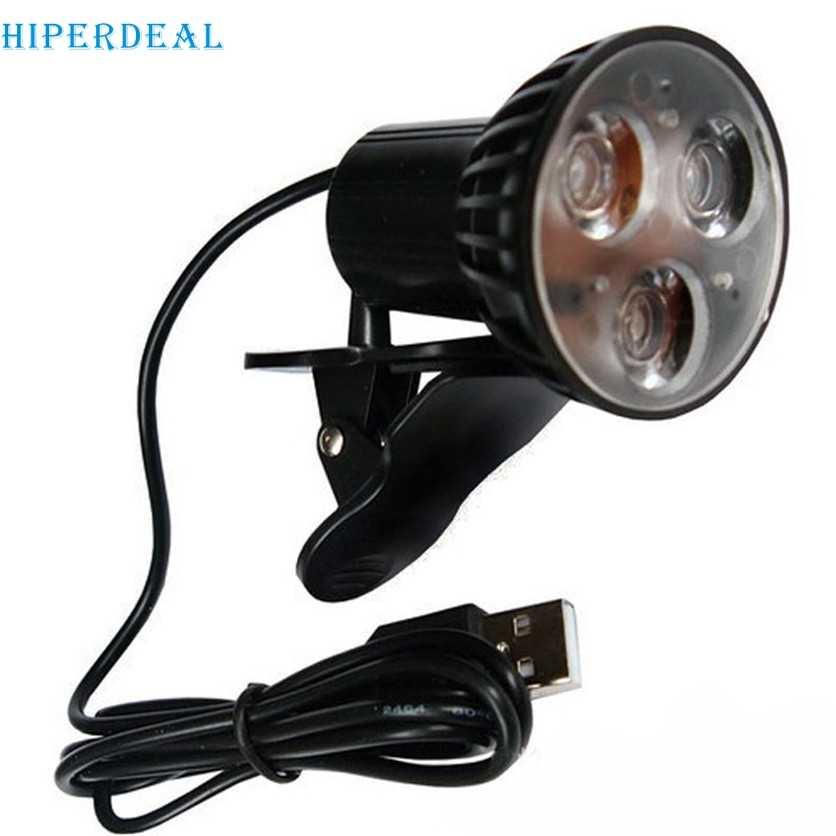 HIPERDEAL заводская цена, USB 3-Светодиодный настольный свет для чтения лампы для ноутбука J10T Прямая доставка