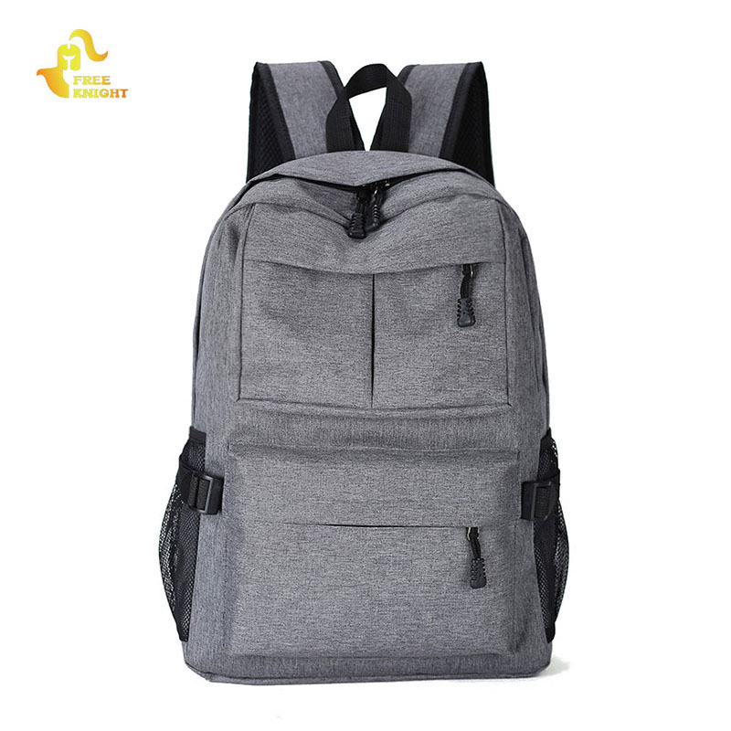 Free Knight Outdoor Computer Backpack Travel Backpack Student Bag Laptop Backpack Waterproof Hiking Camping Bags for Men Women ozuko multi functional men backpack waterproof usb charge computer backpacks 15inch laptop bag creative student school bags 2018