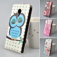 Печать милой картины Кожаный Case Для Meizu M2 Note 5.5 дюйма крышка PU Кожа для Meizu Meilan Note 2 телефон case 5 цвета