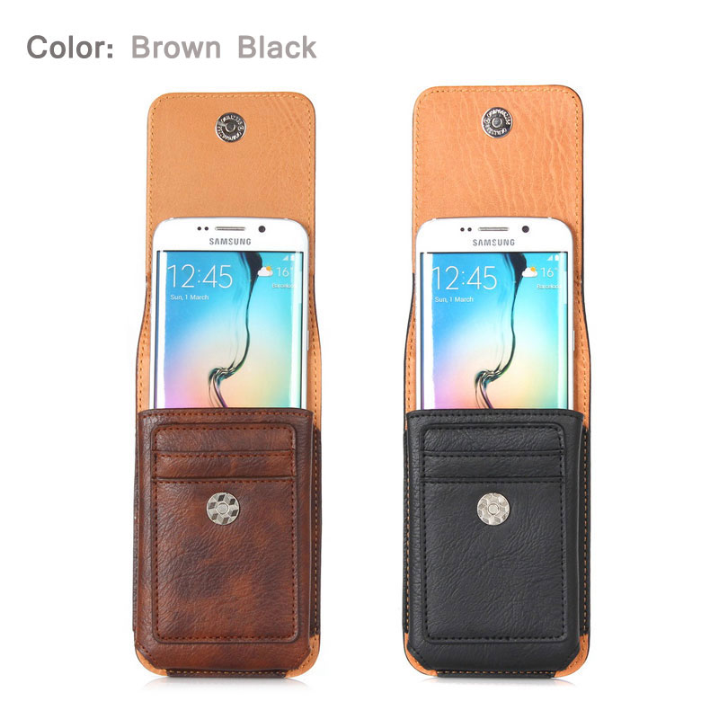 CHEZVOUS 360 Rotasi Belt Clip Pouch Case untuk iPhone 7 6 6 S - Aksesori dan suku cadang ponsel - Foto 6