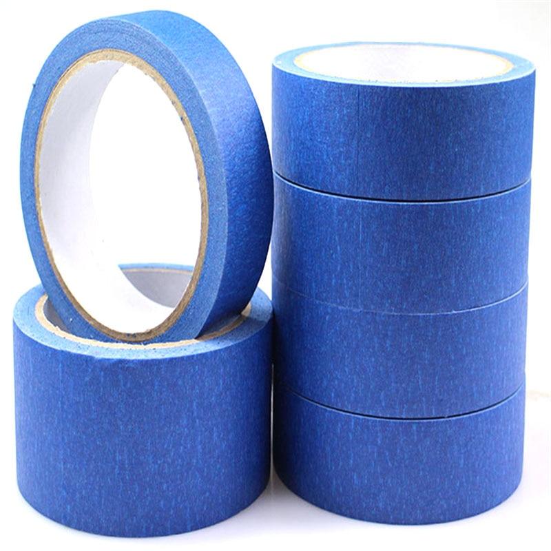 30mm/50mm/80mm/100mm/150mm X 30 Mt Blau Band Maler Druck Masking Werkzeug Für Reprap 3d Drucker HüBsch Und Bunt Hardware