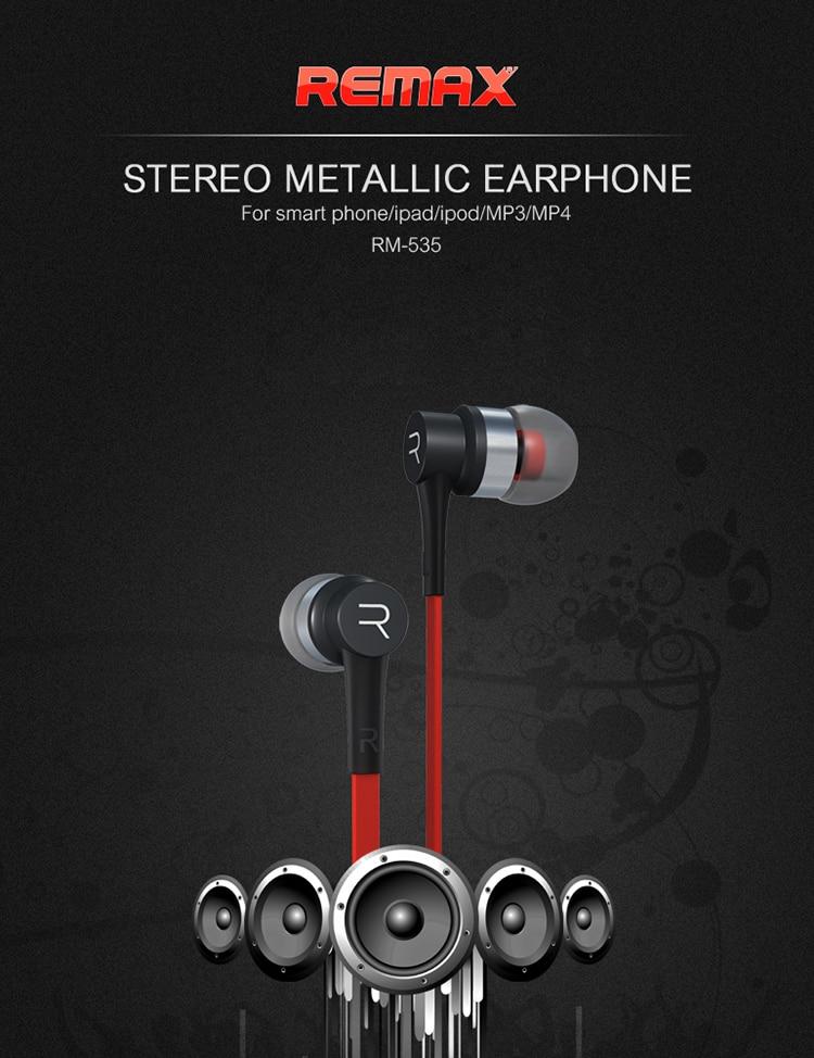 REMAX Earphone RM-535_01