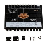 High Quality EQ7 Car Audio Equalizer EQ Front Sub Output 10 14.4V DC