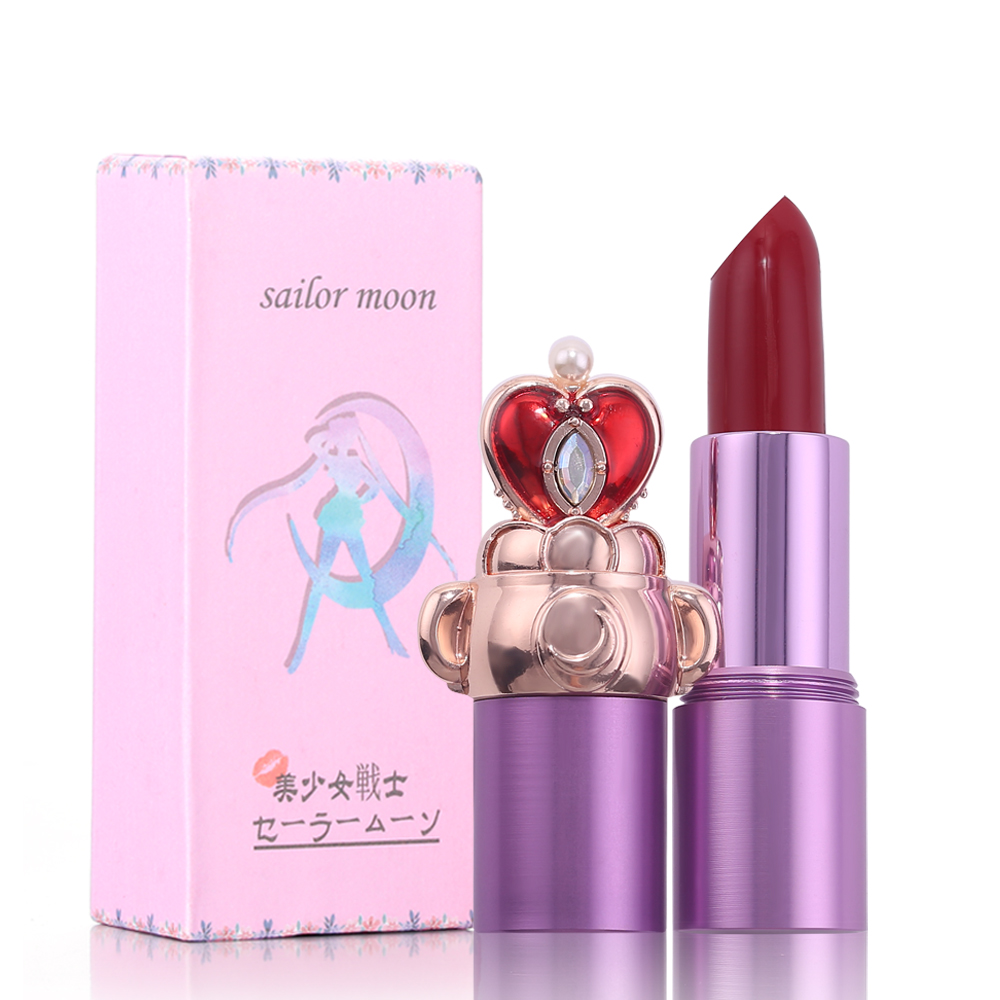 Matte Lipstick For Lips Anime Sailor Moon Waterproof Long Lasting Nourishing Lipstick Tint Tattoo Nude Cosmetics Lipstick Makeup