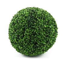28cm künstliche Pflanze Kunststoff grün dekorative Kugel