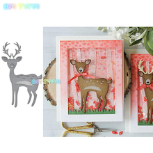 BM deer Metal cutting dies new 2018 DIY Scrapbooking album Decorative Embossing Hand-on Paper Cards
