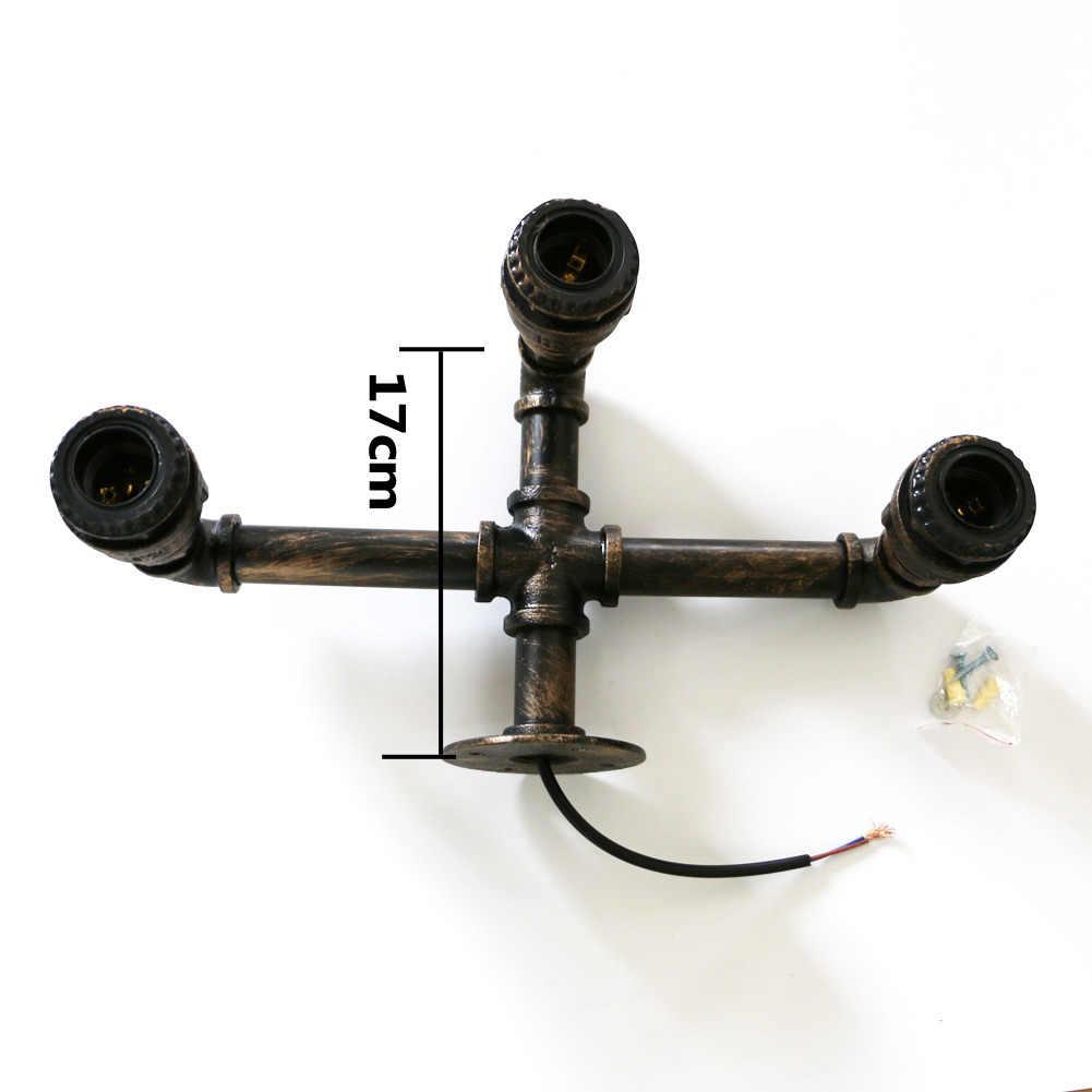 Настенное бра E26/E27 цоколь лампы в стиле ретро, металлический декор, водопроводные трубы Тип используется для Освещение в помещении Наружное освещение прихожей склад сарай