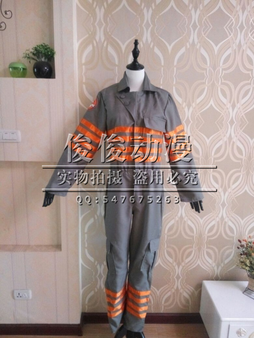 2016 Ghostbusters 3 Ghost Buster Cosplay Costume jumpsuits Customized Costumes