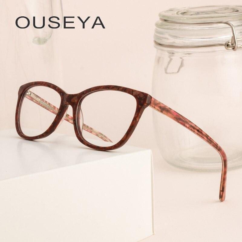 Der GüNstigste Preis 2019 Neue Rahmen Gläser Frauen Brillen Rahmen Voll Rahmen Runde Retro Lesebrille Klare Linse Gläser Rahmen Fml Brillenrahmen