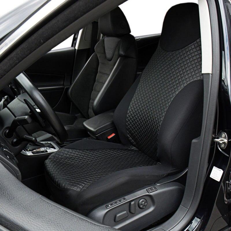Housse de siège de voiture protection de siège 2 pièces accessoires Pour skoda fabia 1 3 OCTAVIA 1 2 3 a5 a7 octavia rs octavia tour