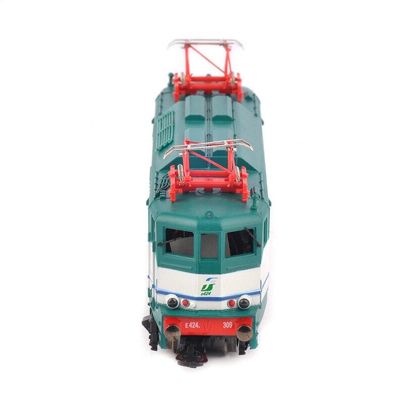 Enfants jouets chariot Bus Collection 1/87 échelle train modèle Hornby Lima passe-temps ligne électrique moulé sous pression Locomotive Tram moteur modèle