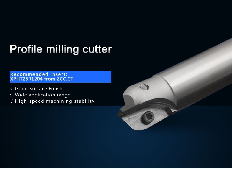 High Quality Indexable Milling cutter face milling tools BMR03-025-XP25-M for carbide insert XPHT25R1204