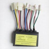 24V 250W Controller for Motor Brush E-bike Electric Scooter Small Scooter L2424D