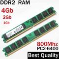 4 Gb de RAM DDR2 800 4 Gb 2 Gb 1 Gb de MEMORIA DDR2 800 Mhz 4 Gb/AMD para Intel memoria ram ddr2 4 Gb single/ddr 2 4 gb de memoria RAM PC2 6400