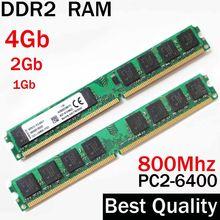 4 Gb RAM DDR2 800 4 Gb 2Gb 1Gb - DDR2 800Mhz 4 Gb/Für AMD für Intel memoria ram ddr2 4 Gb single / ddr 2 4 gb speicher RAM PC2 6400