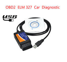 Newest OBD2 Scanner ELM327 usb interface Hardware v1.5/Software 1.5 Car diagnostic scan tool ELM 327