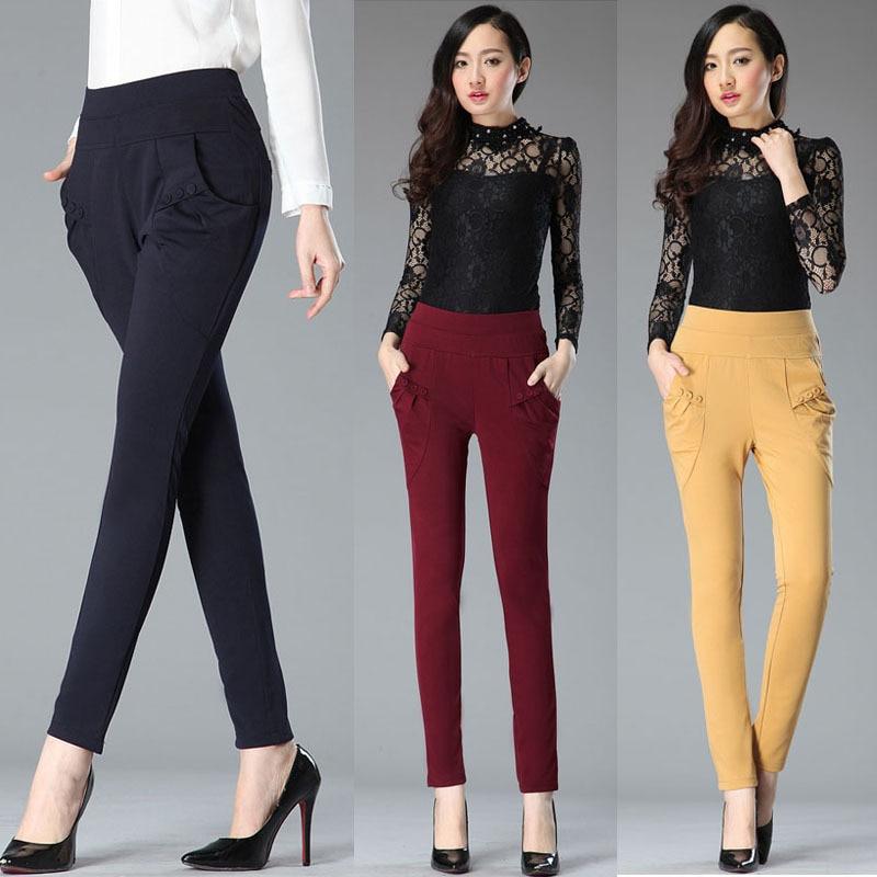 cargo pantalons 2015 dames féminine mode casual classique pantalons IFTPt