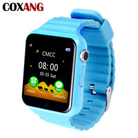 COXANG V7 Smart Watch For Children Kids Baby Supoort 2G SIM Card Dial Call Watch Phone SOS Safety Monitor Alarm Clock Smartwatch