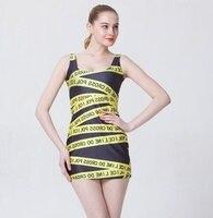 Hot New Women Sexy Sleeveless Tennis Sports Dress Lady Female Elastic Slim Sundress Vogue Warnings Digital