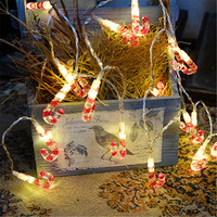 20 Leds DIY Halloween Decoration 2 Meters Mini Lamp String Lights Creative Lighting Chains Romantic Bedroom
