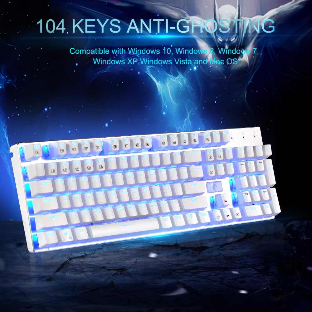 01bcb3b7405 ... Z-88 RGB Mechanical Gaming Keyboard Aluminum Blue Switches Anti-Ghosting  Clicky Modular Keyboards ...