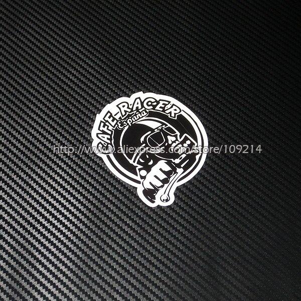 Hot sale Cafe Racer Helmet Motorcycle Sticker Decals Waterproof 19