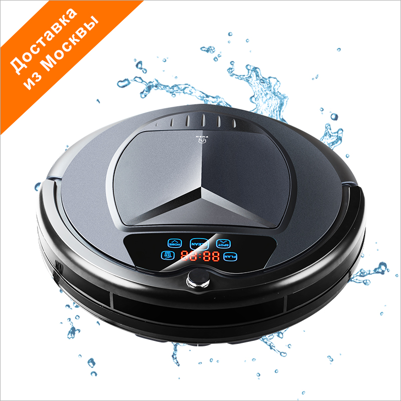 все цены на (RU Warehouse) LIECTROUX B3000PLUS Home Robot Vacuum Cleaner,Water Tank,Wet&Dry,TouchScreen,withTone,Schedule,Virtual,SelfCharge онлайн